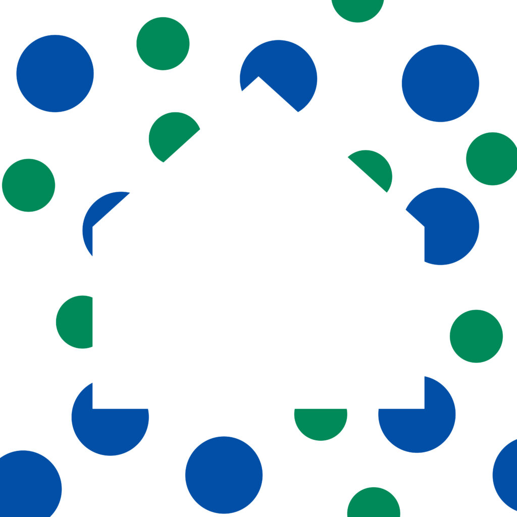 Image of dots forming a house